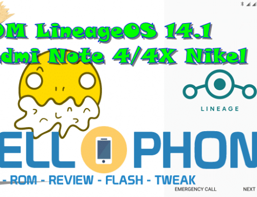 ROM LineageOS 14.1 Redmi Note 4/4X Nikel