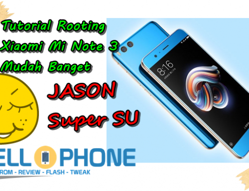 Cara Root Xiaomi Mi Note 3 Jason Tanpa PC