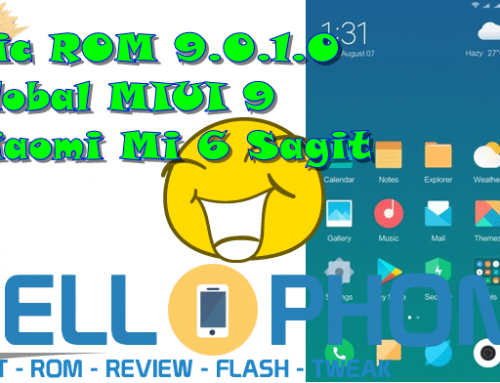Epic ROM 9.0.1.0 Global MIUI 9 Xiaomi Mi 6 Sagit