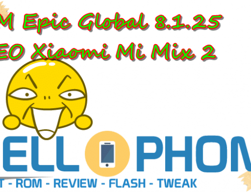 ROM Epic Global 8.1.25 OREO Xiaomi Mi Mix 2
