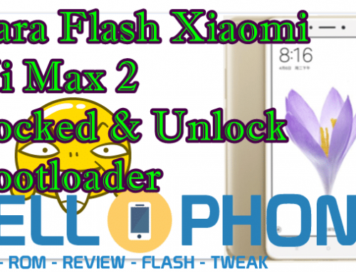 Cara Flash Xiaomi Mi Max 2