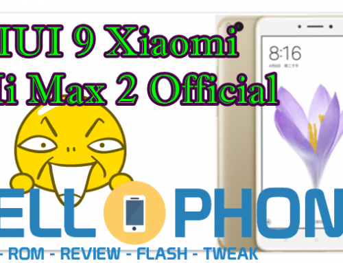 Download ROM Global & China Stable MIUI 9 Xiaomi Mi Max 2