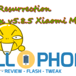 ROM Resurrection Remix v5.8.5 Xiaomi Mi A1