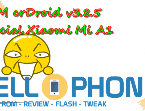 ROM crDroid v3.8.5 Official Xiaomi Mi A1