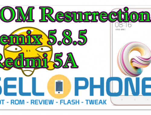 ROM Resurrection Remix 5.8.5 Redmi 5A