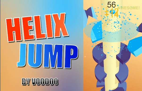 Download Game Helix Jump Mod Apk ( Tanpa iklan, Unlimited Life & Gems )